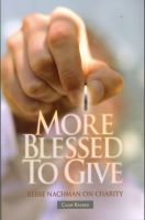 More Blessed To Give - Charity